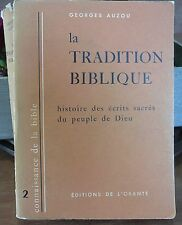 Georges Auzou, La tradition biblique…World FREE Shipping*