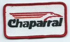 Chaparral Boat manufacture employee/operator patch 2 X 3-1/2