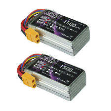 2pcs HRB 1500mAh 11.1V 3S 25C XT60 AKKU Lipo Battery For RC Helicopter Airplane