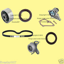 6pc_Timing Belt Kit w/ Water Pump_Tensioner Pulley Rollers_for Hyundai Accent