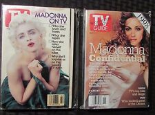 1991/98 TV GUIDE Magazine LOT of 2 MADONNA Cover VF