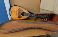 Vintage 1920's CROWN Mandolin USA MADE with HS Case NICE CONDITION