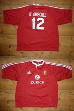 """""""O'Driscol"""" BRITISH LIONS RUGBY SHIRT 3XL WALES RUGBY   maglia NZ Tour 2005"""