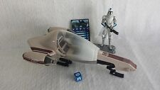 Star Wars Deluxe FREECO SPEEDER & Cold Weather 501st CLONE TROOPER Clone Wars