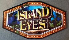 IGT Slot Machine Polygon Topper Insert ISLAND EYES