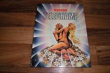 Macedo -- TELECHAMP // Volksverlag Hardcover 1. Auflage 1981
