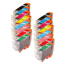 16 PK Replacement Ink Set Red & Green for Canon CLI-8 Pixma Pro9000 Mark II