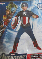 Captain America costume NEW NEVER WORN Size Large 10-12