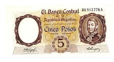 Argentina … P-275a … 5 Pesos … ND(1960-62) … *UNC*