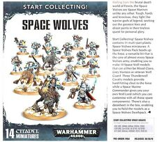 Warhammer 40k Space Wolves Start Collecting NIB