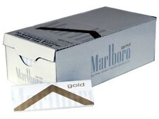 Marlboro GOLD Fine Weight Cigarette Rolling Papers 10 X 60 papers.