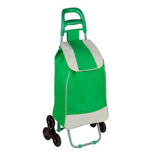 Rolling Fabric cart with Tri-Wheels in Green # CRT-03935 by Honey Can Do