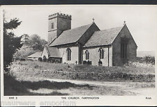 Gloucestershire Postcard - The Church, Farmington    DP737