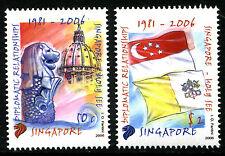 Singapore 2006 - Emissione congiunta con Vaticano  - MNH