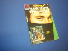 THE TRUE STORY OF JESSE JAMES #757 Dell Four Color 1957 movie western