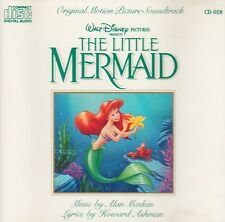 THE LITTLE MERMAID: MOTION PICTURE SOUNDTRACK – 20 TRACK CD, WALT DISNEY