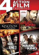 Kingdom of Heaven/In the Name of the King 1-3 (DVD, 2014, 4-Disc Set)