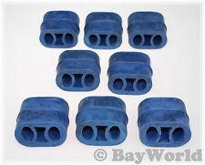 8 St. Auspuff Gummi Hänger Anschlagpuffer 255-095blue Blau OPEL Hitzebeständig