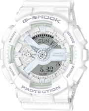 Casio GMAS110CM-7A1 G-Shock Analog-Digital White Resin Watch