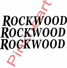 3- ROCKWOOD decals large RV Decal graphics decals sticker 3 made in the USA