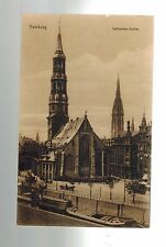 1924 Hamburg Germany to University of Beirut Syria Real Picture Postcard Cover