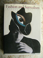 FASHION AND SURREALISM - RICHARD MARTIN - THAMES AND HUDSON, HARD COVER