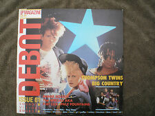 MAGAZINE LP DEBUT 1980'S THOMPSON TWINS / BIG COUNTRY lp sealed