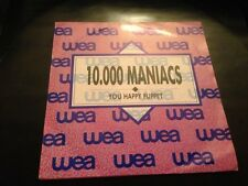"10000 MANIACS MERCHANT - SPANISH SAME SIDED 7"" SINGLE SPAIN YOU HAPPY PUPPET"