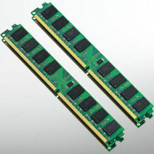 High Density 4GB 2x2GB PC2-5300 DDR2 667 667MHZ 240Pin Ram Desktop DIMM Memory