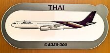 THAI AIR, Airbus A330-300, Original, High Quality Print, new, HIGHLY RARE !!!