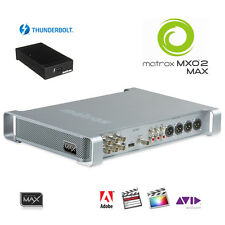 Matrox MXO2 Max I/O-Box mit Thunderbolt schneller Encoder H.264 MP4 HD-SDI HDMI