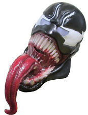 VENOM ADULT 3/4  Latex Mask for Halloween Costume Marvel Cosplay Spider Man