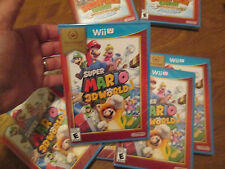 Super Mario 3D World Nintendo Wii U NINTENDO SELECTS VIDEOGAME HARD TO FIND
