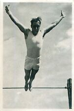 152. Ernst Winter Horizontal High bar Gymnastic Germany OLYMPIC GAMES 1936 CARD