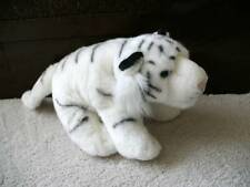 "Wild Republic Plush White Tiger Super Soft! 12"" 2009"