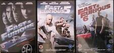 FAST AND THE FURIOUS 4,5,6 [Four,Five,Six] Vin Diesel, Rock, Paul Walker DVD EXC