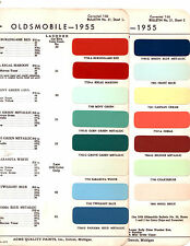 1955 OLDSMOBILE 88 SUPER 88 98 55 PAINT CHIPS ACME 2