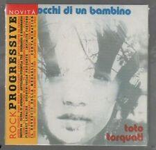 TOTO TORQUATI GLI OCCHI DI UN BAMBINO VINYL REPLICA CD F.C. SIGILLATO!!!