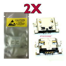 2 X New Micro USB Charging Sync Port THL T100 T100S W100 W100S W200 W200S USA