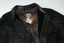 Barbour Fieldspar Waxed Jacket XL Extra Large Black MWX0562BK11