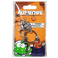 Cut the Rope Om Nom Metal KeyChain/Keyring w/ Charms + FREE SHIPPING! Ages 4+