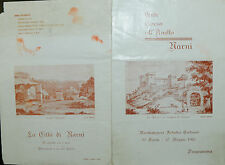 """Werbung : 1981 NARNI (TR)  """" ENTE CORSA all'Anello """""""