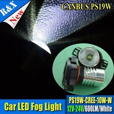 2X PS19W Car Bulb 12-24V CREE Replacement DRL Bulb Daytime Running Light Audi A3