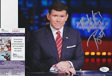 Bret Baier In-Person Signed 8x10 Photo w JSA COA #P80553 Fox News Special Report
