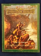 AD&D 2nd Edition FR7 HALL OF HEROES  Forgotten Realms Dungeons Dragons TSR 9252