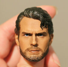 Custom made ! Henry Cavill clark kent man of steel 1/6 figure HEAD ONLY
