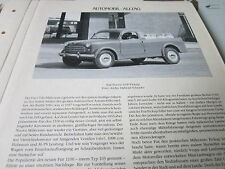 Internationales Automobil Archiv 4 Alltag 1047 Fiat Nuova 1100 Pickup