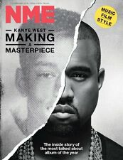 NEW MUSICAL EXPRESS NME 12 FEBRUARY 2016 KANYE WEST Masterpiece Cover n.m.e.