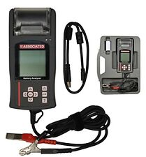 Associated Equipment 12V Digital Battery Tester with Thermo Printer - 12-1015