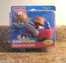 Fisher Price Little People WORKER And LOADER  2 Piece Set NEW